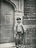 A Drover's Lad at Canons Ashby, c.1894, photographed by Alice Dryden