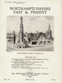 Cover of NP & P showing Queen Eleanor's Cross at Geddington