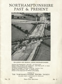 Cover of NP & P showing the Queen's new highway across Northamptonshire