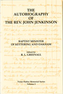 image of the cover of the Rev. John Jenkinson's Autobiography