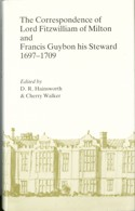 Image of the dust jacket of Correspondence of Lord Fitzwilliam and Francis Guybon