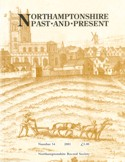 example cover of Northamptonshire Past & Present